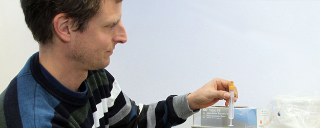 Professor Dr. Dr. Perikles Simon has caused a stir with his method for detecting gene doping. (photo: Stefan F. Sämmer)