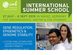 IMB International Summer School 2015