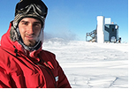 Gutenberg alumnus Benjamin Eberhardt is currently living and undertaking research at the South Pole for a whole 12 months. (photo/©: Raffaela Busse, NSF)
