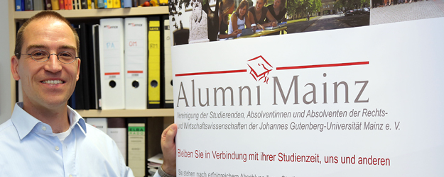 The purpose of the alumni club is to enable erstwhile students of Mainz University to stay in contact. (photo: Stefan F. Sämmer)